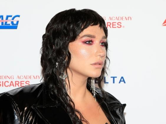 Artist Kesha at the 2020 MusiCares at the Los Angeles Convention Center on January 24, 2020 in Los Angeles.